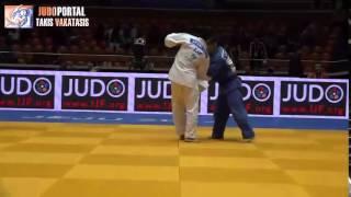 Judo Grand Prix Jeju 2014 Bronze -66kg ZANTARAIA Georgii (UKR) vs. TATEYAMA Sho (JPN)