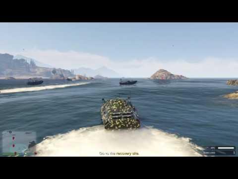 GTA V Mobile Operations - Offshore Assets Mission