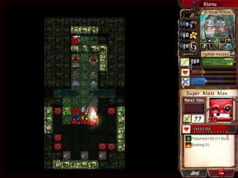 Desktop Dungeons: Naga City VT, Human Assassin