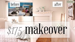 $175 MASTER BEDROOM MAKEOVER