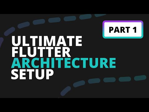 Complete Flutter Architecture using Provider and Stacked