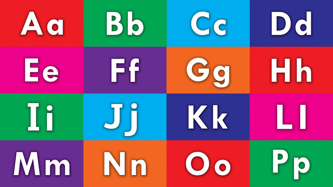 ABC Phonics Song For Children | Learn Colors & Shapes ...