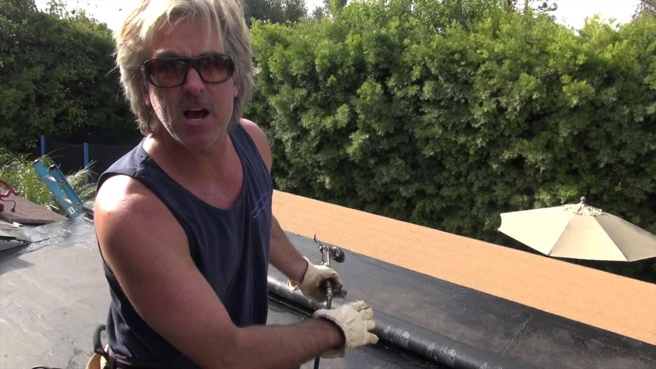 Fastest Way To Install Torch Down Membrane Palos Verdes Roofing Contractors    YouTube