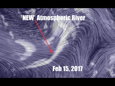 """Another """"Atmospheric River"""" approaching West Coast! Wow"""