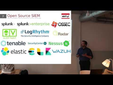 Genève Open Source Meetup #4 - Présentation et démo d'ELK/SIEM/WAZUH