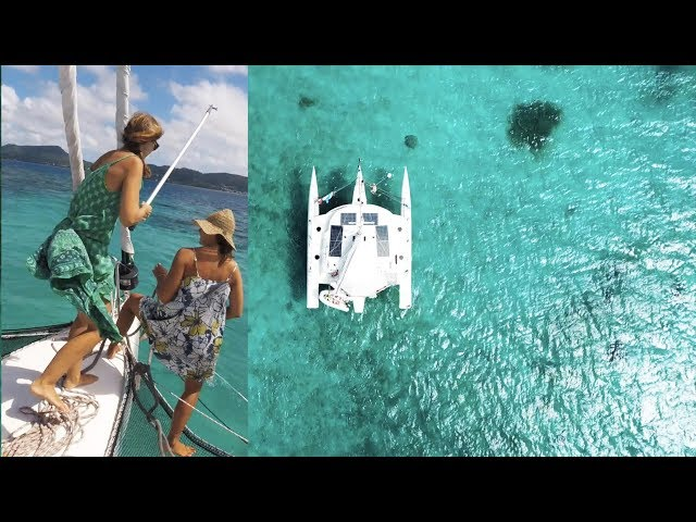 How NOT to Pick Up a Mooring Buoy in a Trimaran