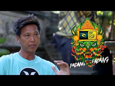 Padang Padang Breakdown with Bali Legend - Rizal Tandjung