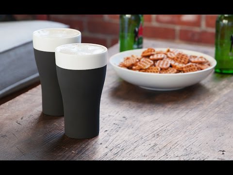 Mind blowing ceramic barware. Really.