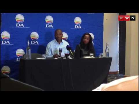 Mmusi Maimane on suspending Helen Zille