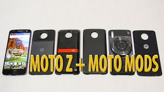 Обзор смартфона Moto Z + Moto Mods