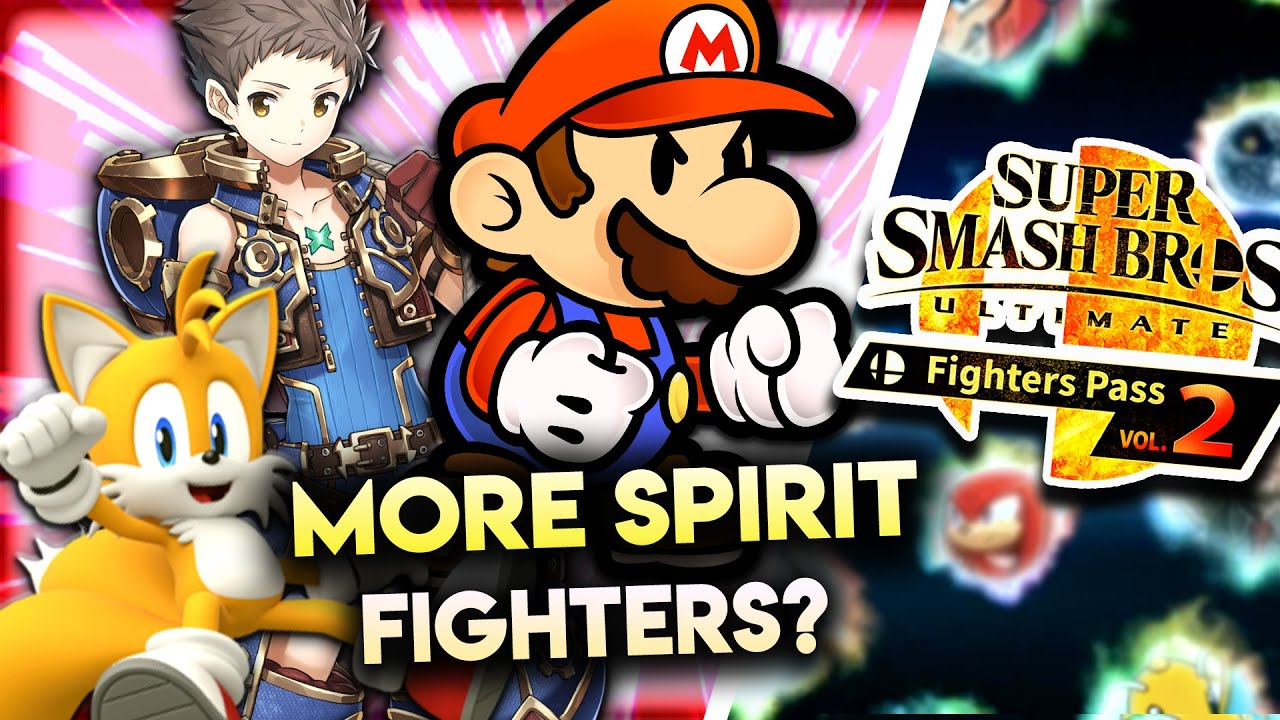 Should MORE Spirits Become Fighters in Super Smash Bros Ultimate? | Siiroth thumbnail