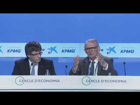 Intervenció de Carles Puigdemont, President de la Generalitat de Catalunya,