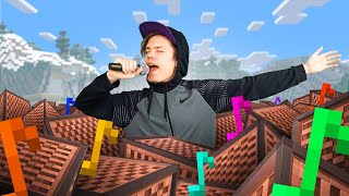 Singing a Song I Made in Minecraft