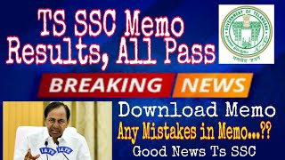 Ts SSC Results 2020 | Telangana 10th Marks Memo Released | BSE telangana 10th class Results