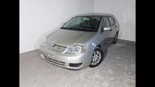 Automatic 4cyl Sedan Toyota Corolla Ascent Sedan 2005 Review For Sale