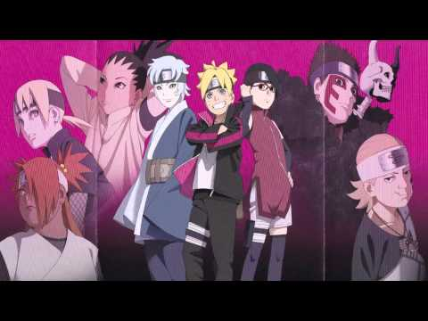 BORUTO NARUTO THE MOVIE - 32 NARUTO and BORUTO
