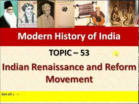 renaissance in india in the 19th century