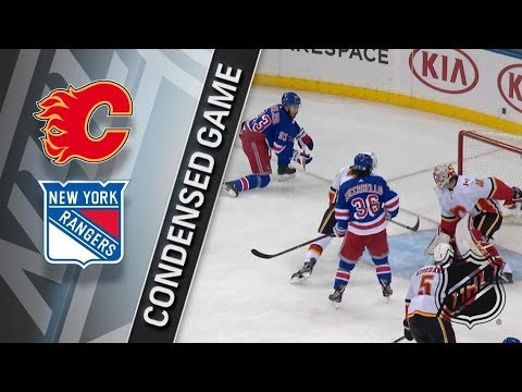 Calgary Flames vs New York Rangers – Feb. 09, 2018 | Game Highlights | NHL 2017/18. Обзор