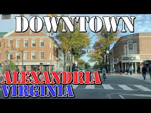 Alexandria - Virginia - 4K Downtown Drive