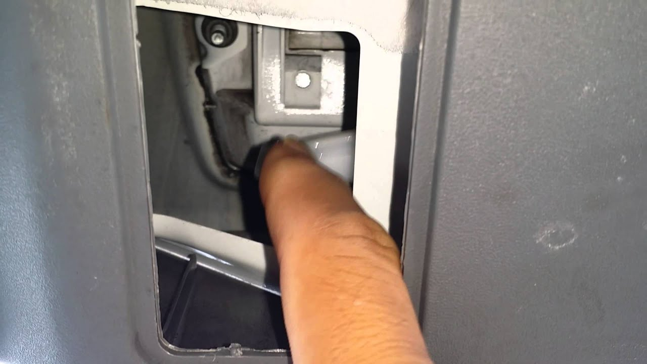 How to fix your nissan armada rear door lock when it gets for Back door with window that opens