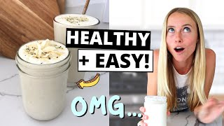 Replace Your Breakfast With This Super Healthy Smoothie [Fat Burning Smoothie]