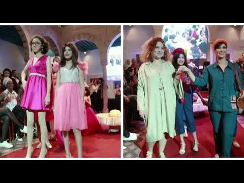 شاهد: عرض أزياء مبهر لمريضات السرطان في تونس  - 10:32-2019 / 11 / 10