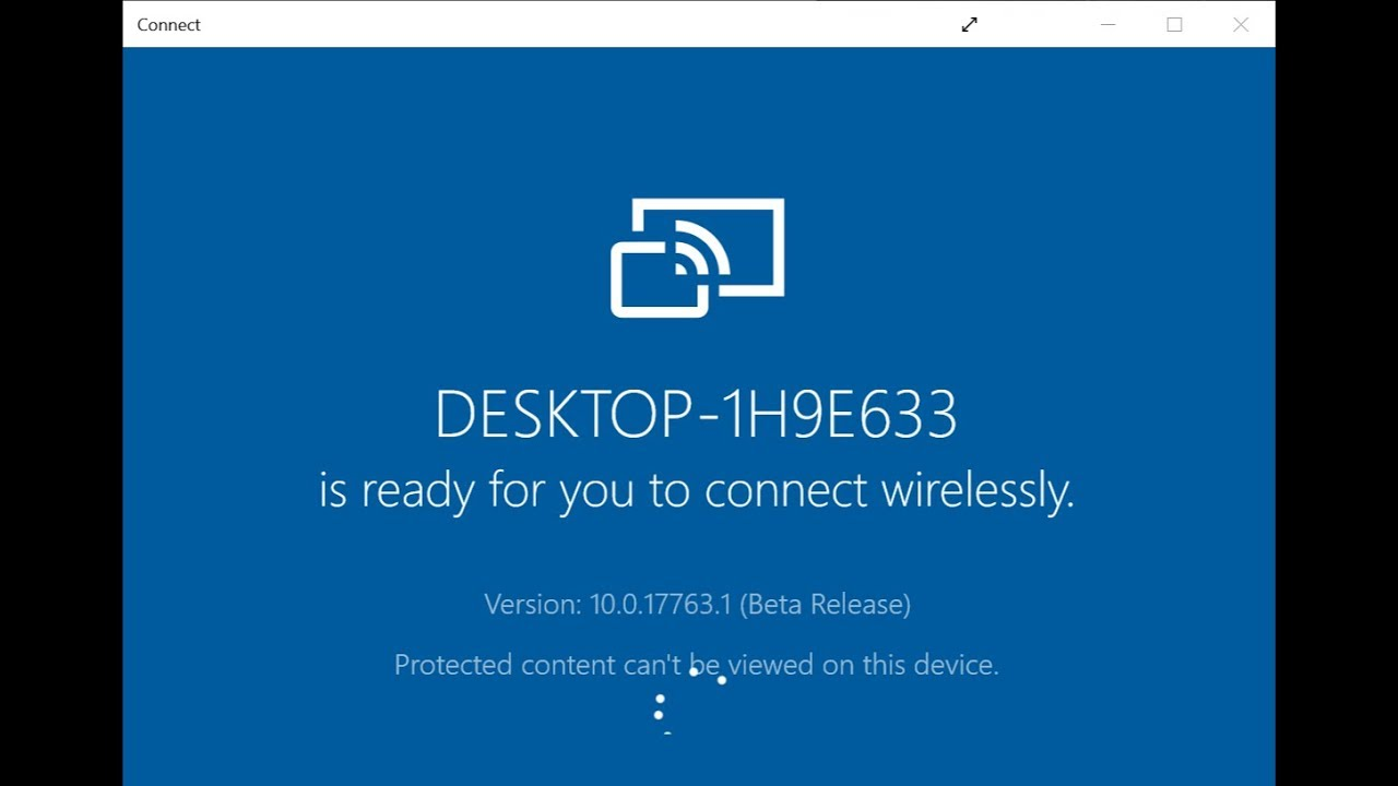 Fix Windows 10 Connect App Not Working with Android Phone