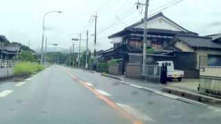 道の駅うすい → 大隈駅跡 → 漆生線跨道橋 → 漆生駅跡