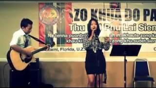 Kachin girl Singing Zomi Song ( Ngilh lo...