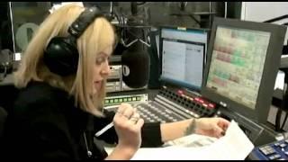 Matt Smith and Karen Gillan with Fearne on Radio 1 Pt 2