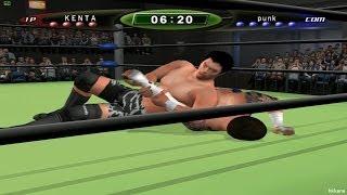 King of Colosseum 2 KENTA VS CM Punk Gameplay
