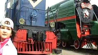 видео Музей Железнодорожного Транспорта — Варшавский вокзал