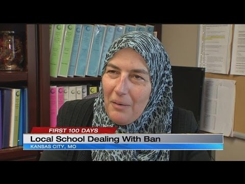 Islamic School of Greater Kansas City reacts to President Trump's executive order