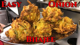 How to make Onion Bhajees at Home! (BIR style)