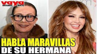 Por primera vez Laura Zapata habla maravillas de Thalia.