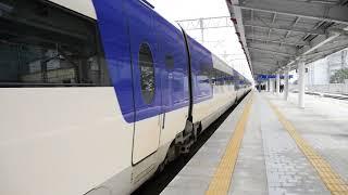 상봉역에 들어오는 경강선 KTX-산천 - KTX-Sancheon Train in Sangbong Station