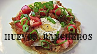 Huevos Rancheros Recipe - My Favorite Mexican Breakfast!