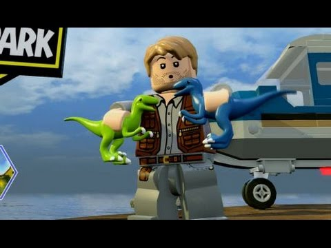 Lego Jurassic World Isla Sorna Free Roam Gameplay Youtube