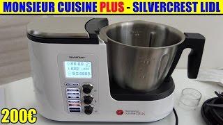 monsieur cuisine plus lidl silvercrest présentation test avis notice forum unboxing skmk 1200
