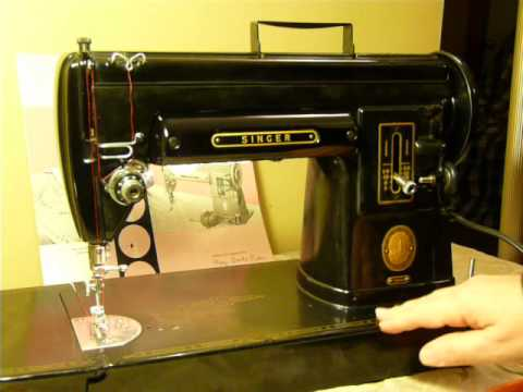NIFTYTHRIFYGIRL Classic Black Singer 40A Slant Needle Sewing Enchanting Singer 301a Sewing Machine