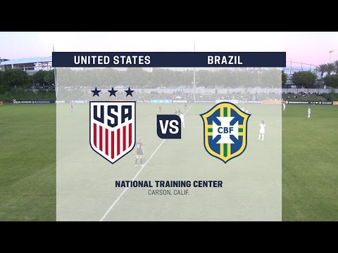 Live Video: 2016 U-20 Women's NTC Invitational: USA vs. Brazil