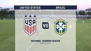 Live Video: 2016 U-20 Womens NTC Invitational: USA vs. Brazil