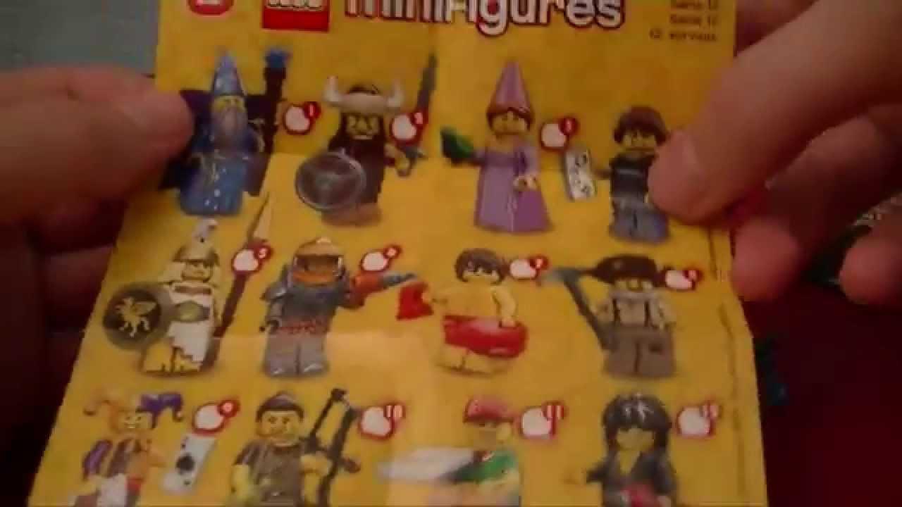Nouvelles 12 Mini À Série Lego16 Figurines bv7yYf6g