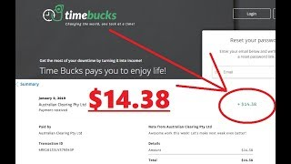 timeBucks review - Does this site really pays?