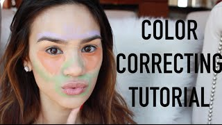 Color Correcting Tutorial | How To Cover Dark Circles, Redness, Acne Scars