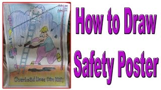 How to Draw Safety poster 1