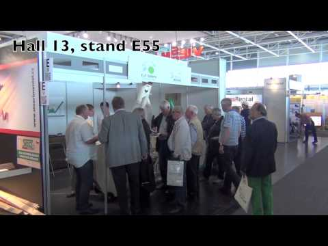 Ligna 2013, Wood Energy Expo, Hannover, Germany