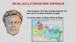 2  H1  8  du IIIe siècle à Constantin, la défense de l'unité de l'empire face aux crises