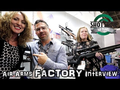 NEW Air Arms s510 XS Regulated Airguns - SHOT Show 2018
