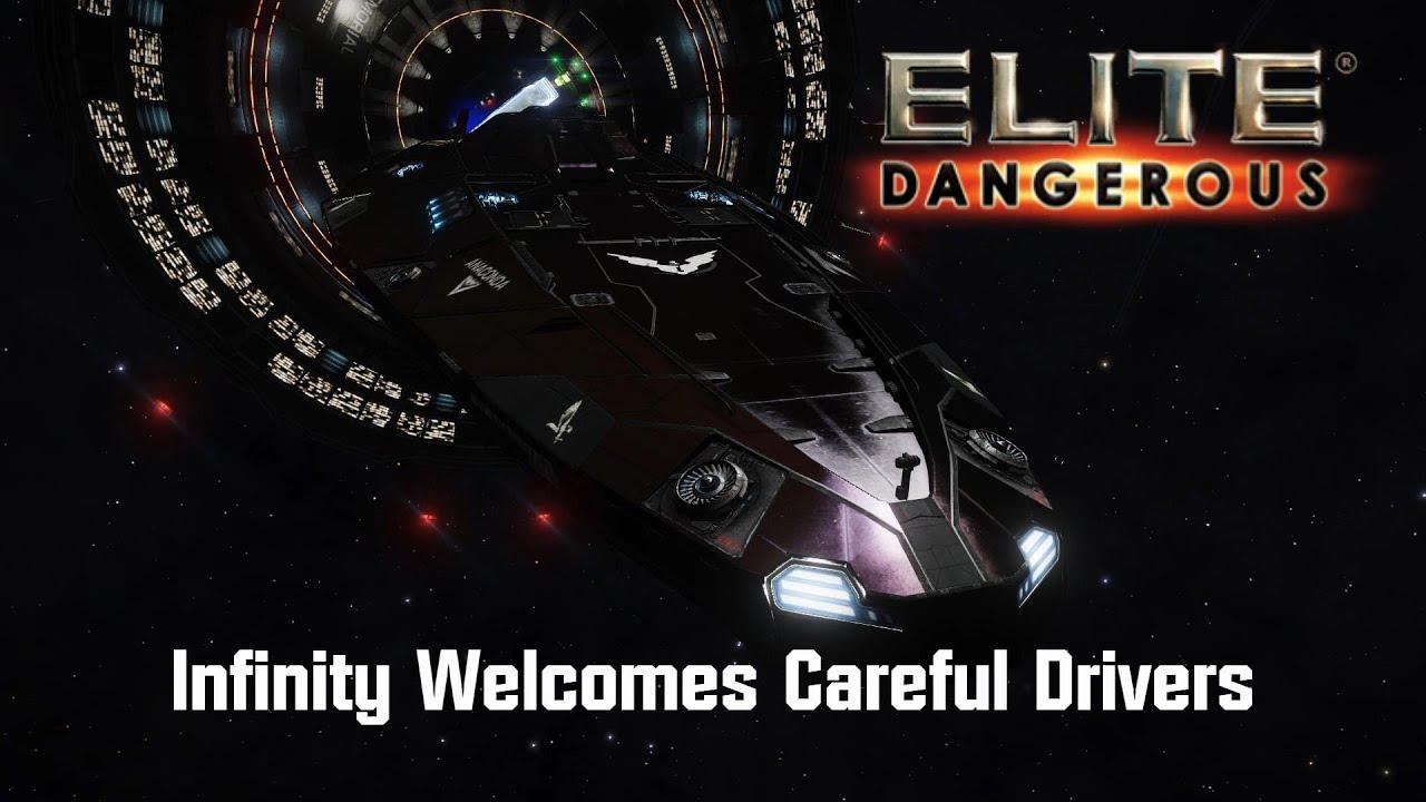 Elite: Dangerous - Infinity Welcomes Careful Drivers